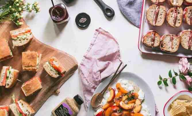 3 GARDEN PARTY SANDWICHES