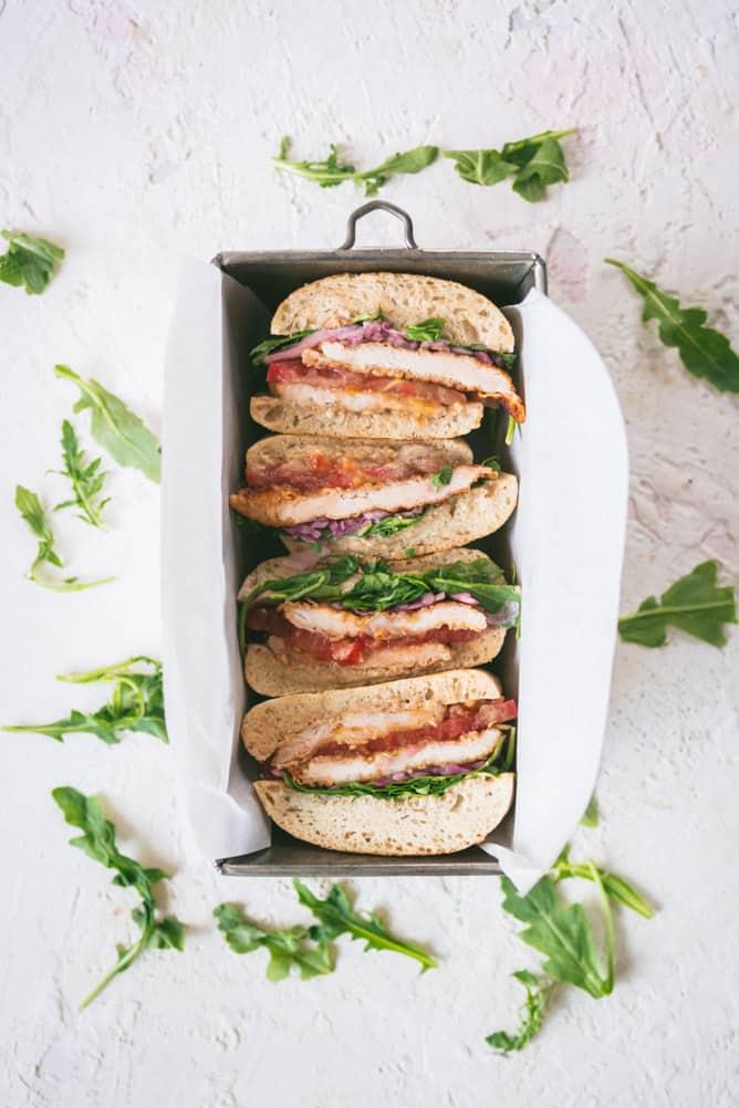 CRISPY CHICKEN CUTLET SANDWICH