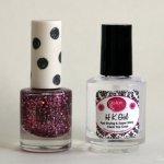 Topshop nail polish & Glisten and Glow top coat