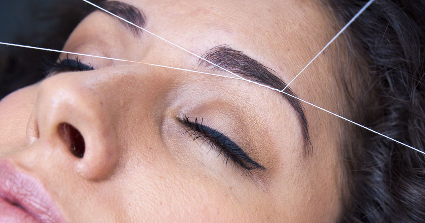 My Eyebrow Threading Experience Lena Talks