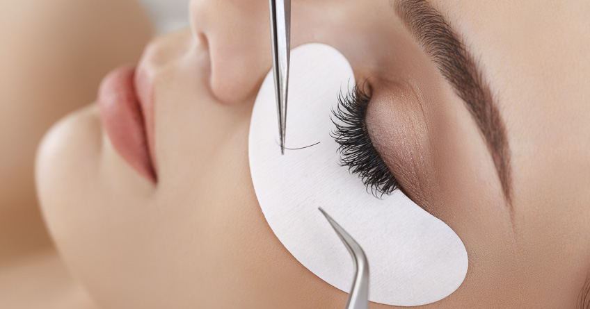 Eyelash extensions - question and answer post