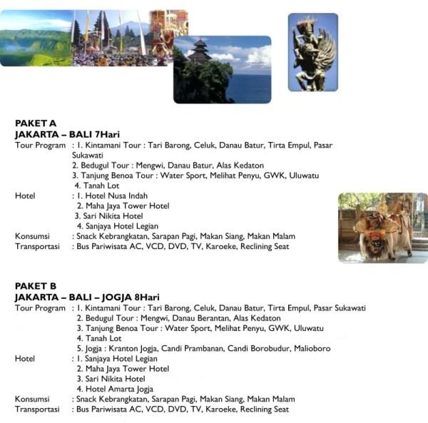Paket Wisata - Jakarta Bali