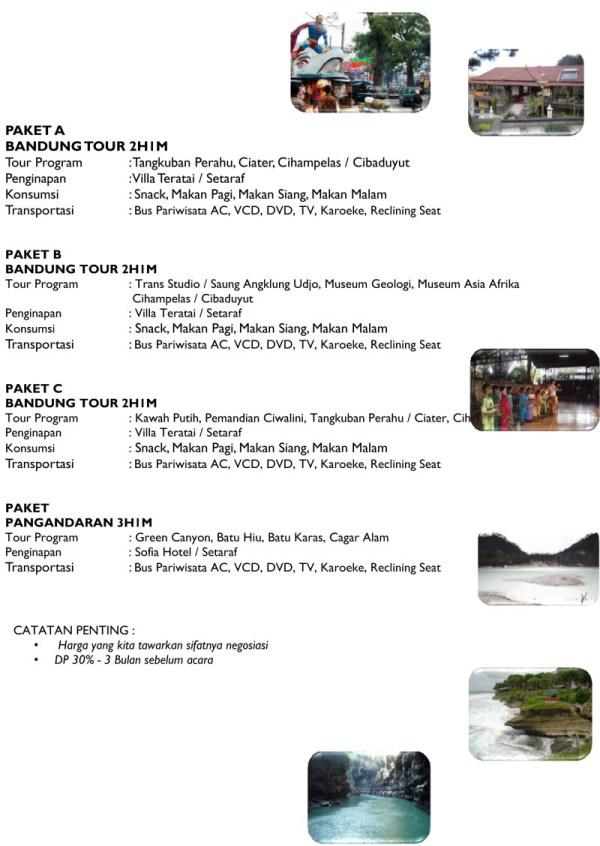 Paket Wisata - Jakarta Bandung
