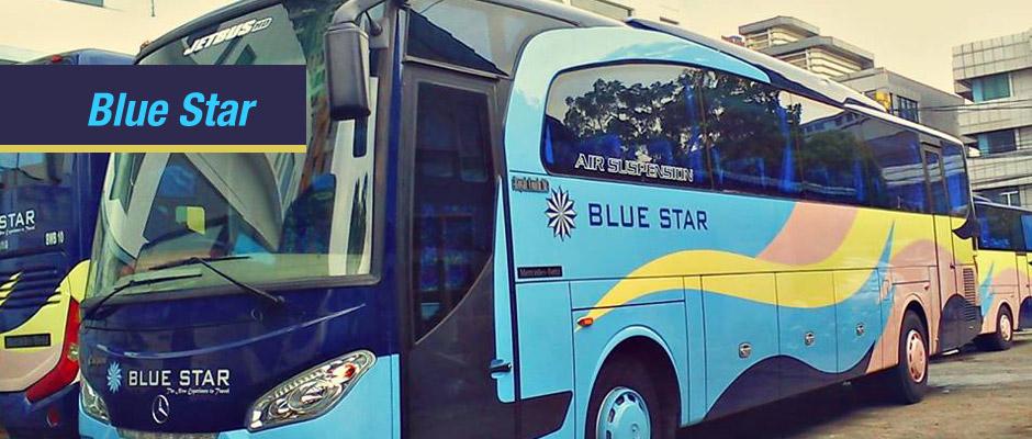 Sewa Bus Blue Star Jakarta