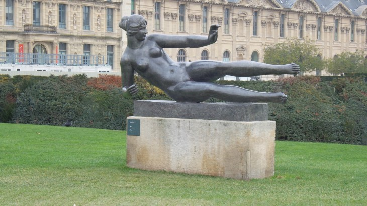 """Is this Rodin, what do you think?"", Gergö asked. ""Looks more like Pilates, actually."" (I'm on a roll here)"