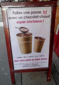 chocolat chaud super onctueux