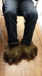 gergös furry wookie slippers
