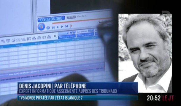denis jacopini sur Direct 8