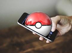 Pokemon, Pokemon Aller, Main, Smartphone