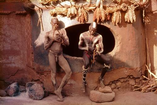 Were visited African congo men nude