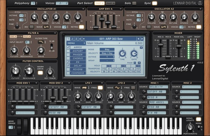 Sylenth1 virtual analog VSTi synthesizer plugin
