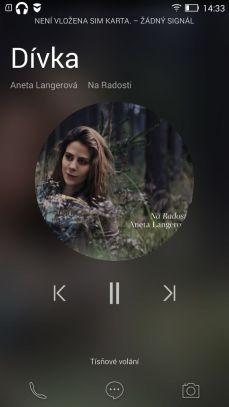 Lenovo Vibe X2 hudba