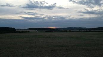Západ slunce - vypnuté HDR