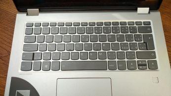 yoga 520 klávesnice