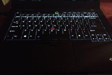 Lenovo ThinkPad 25 keyboard backlit
