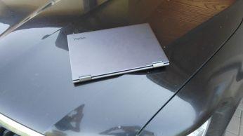 Člověk by ani neřekl že se jedná o 15ti palcový notebook