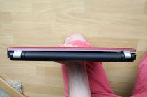 Vytržený pant je patrný i ze zadní strany.