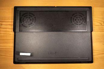 Dva ventilárory jsou u herního notebooku samozřejmostí.