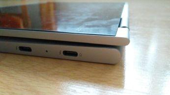 Levá strana v režimu tablet