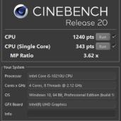 Cinebench-R20