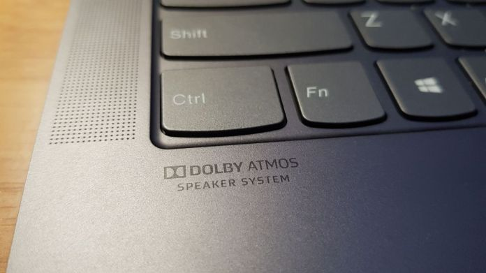 Notebook je vybaven DOLBY Atmos