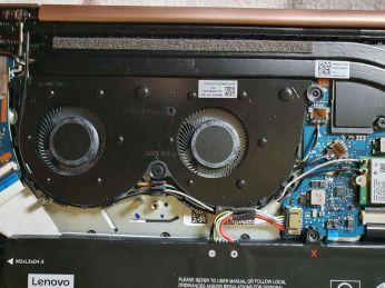 Lenovo Ideapad S540-ventilatory