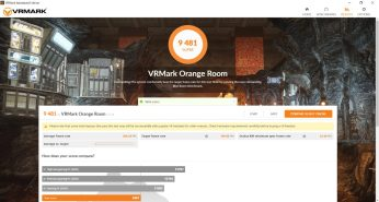 Lenovo Legion Creator 7 – VRMark Orange Room