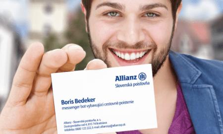 Prvého poisťovacieho chat bota vyvinula Allianz – SP