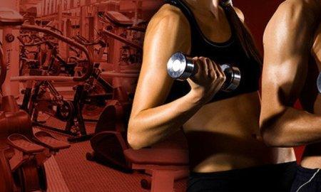 cvičenie vo fitku