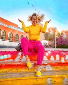 blogerky vám ukážu - ako kombinovať farby
