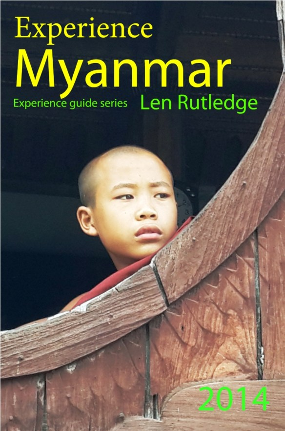 Myanmar book cover