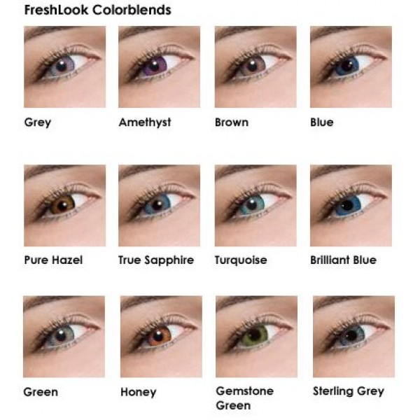 Fresh Colorblends Brown Eyes