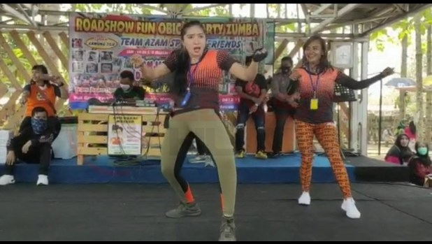 LensaHukum.co.id - Screenshot 20200913 191236 Gallery - Roadshow Fun Obic Dan Party Zumba Team Azam Sport N Friend Adakan di Lokasi Kawung Tilu