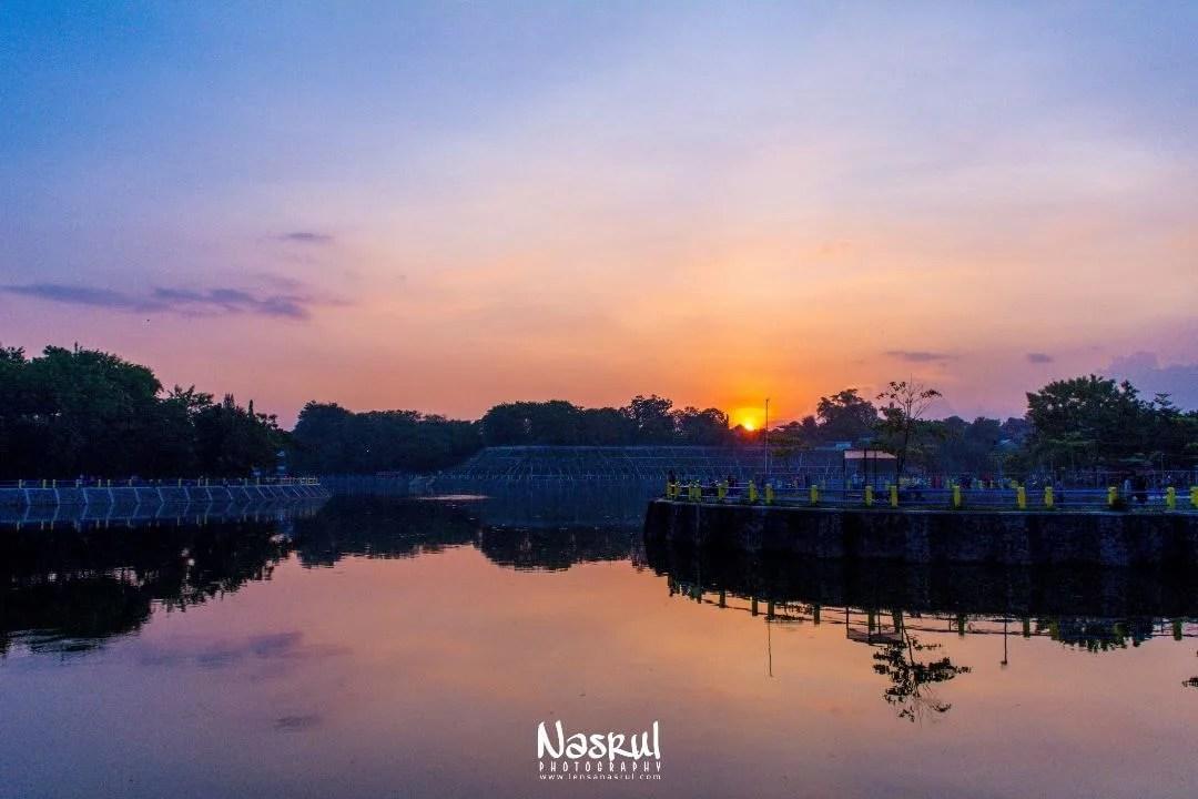 sunset Embung tambakboyo