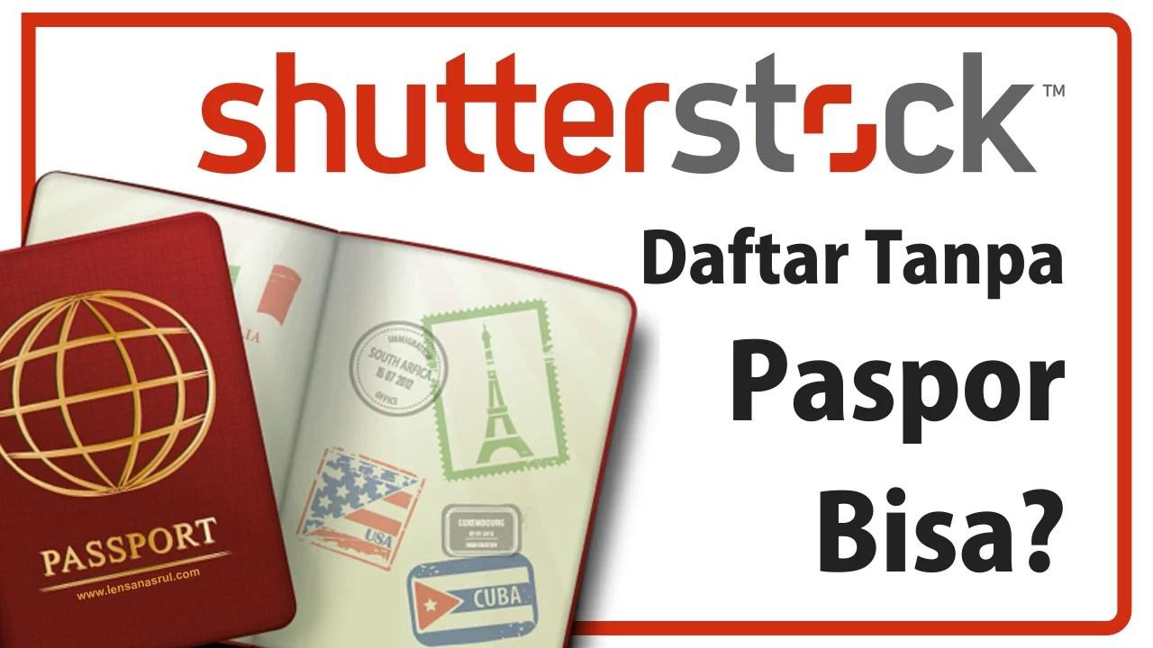 shutterstock tanpa paspor