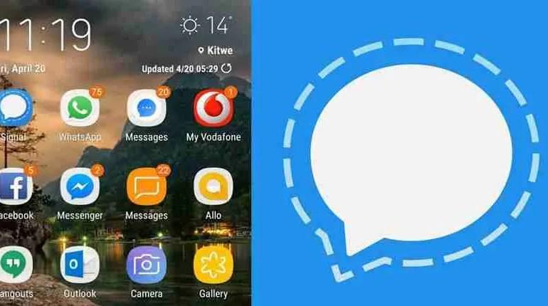 Signal Mobile Phone App