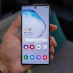 Galaxy note 10 was released on the Zambian market