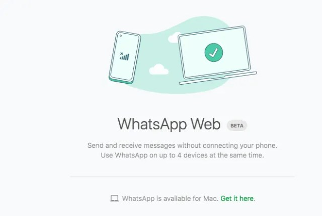 How to use WhatsApp without your phone been online 1