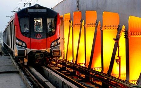 सेल ने लखनऊ मेट्रो रेल परियोजना के लिए 20,000 टन स्टील की आपूर्ति