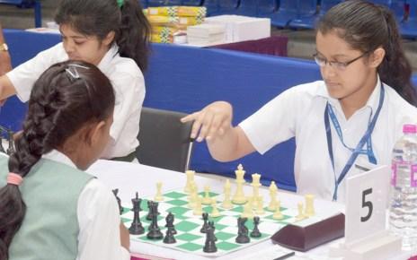 DPS International Chess Championship Girls (open)-2017