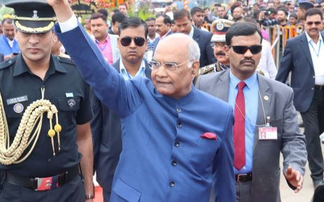 The 17th foundation day of Jharkhand : President reached ranchi