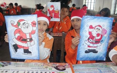 Christmas celebration in kalakriti school of arts.