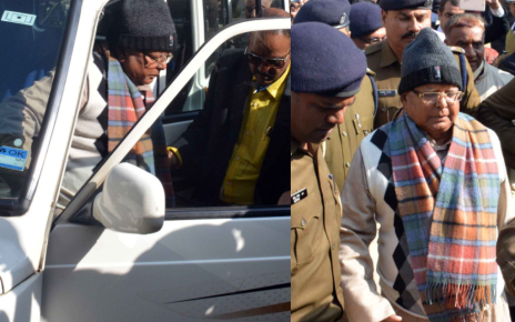 चारा घोटाला :: लालू यादव पहुंचे सीबीआई स्पेशल कोर्ट Fodder scam case : Lallu yadev reached cbi special court