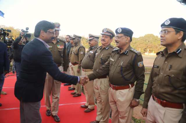 Closing of The 17th police duty meet in jap one ground