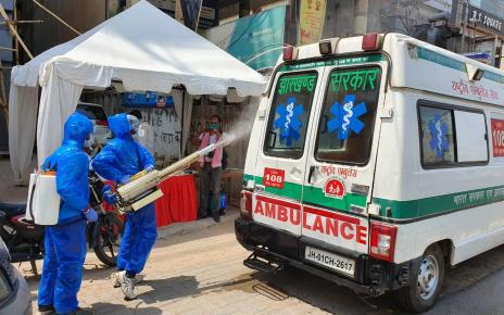Free vehicle disinfectant fogging programme started