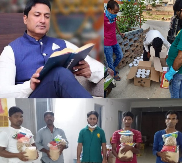 Team ajay shahdeo is helping the people of hatia vidhan sabha from 26th of march
