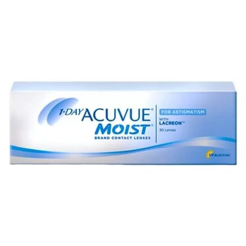 1 Day Acuvue Moist for Astigmatism, astigmatlı lens fiyatı