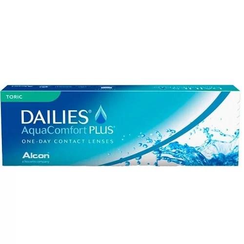 Dailies Aqua Comfort Plus Toric, astigmatlı lens fiyatı
