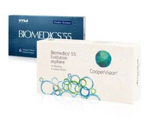 Biomedics 55 Uv Evolution, aylık lens fiyatı, biomedics 55 lens fiyatı