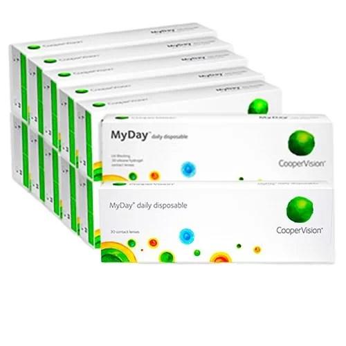 MyDay Kampanya 12 Kutu, günlük lens fiyatı, kampanyalı günlük lens fiyatı